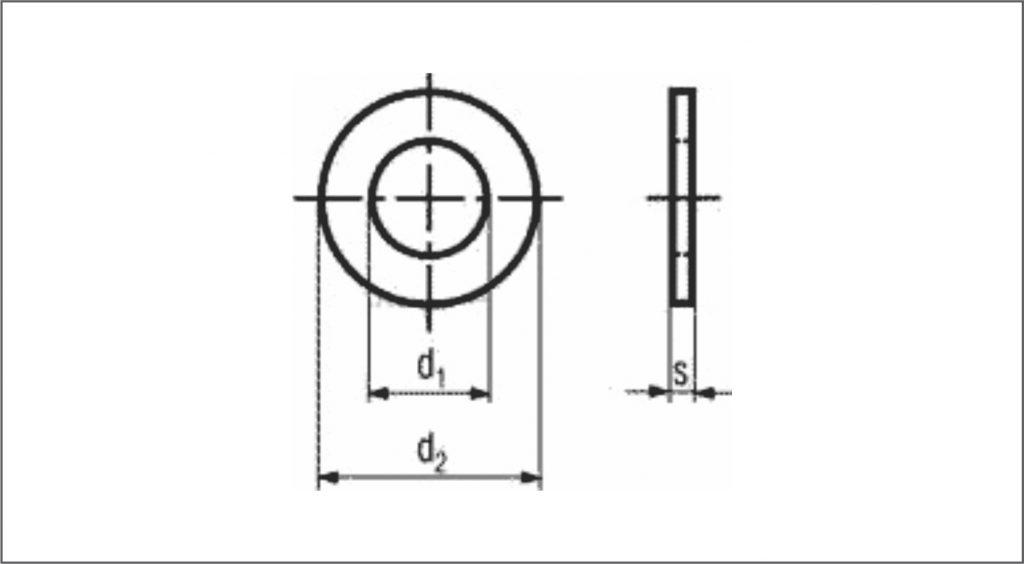 DIN 126 / ISO 7091